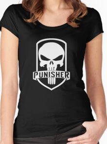The Punisher Women's Fitted Scoop T-Shirt