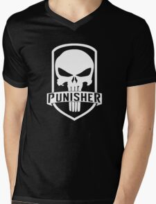 The Punisher Mens V-Neck T-Shirt