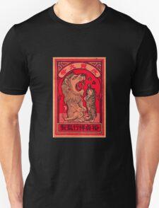 Lion and Kitten - Chinese Match Box Art T-Shirt