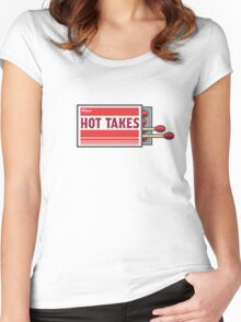 Hot Takes! Women's Fitted Scoop T-Shirt