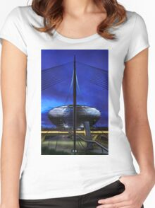 Gateway Station Women's Fitted Scoop T-Shirt