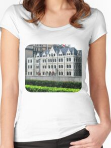 The Russell & Co. Building  Women's Fitted Scoop T-Shirt