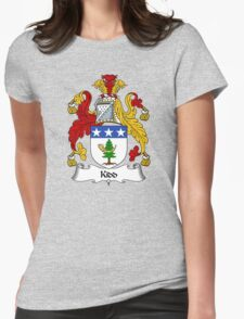 Kidd Coat of Arms / Kidd Family Crest Womens Fitted T-Shirt