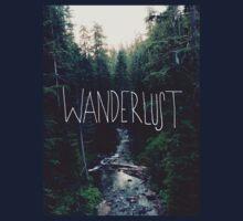 Wanderlust Rainier Creek Kids Tee