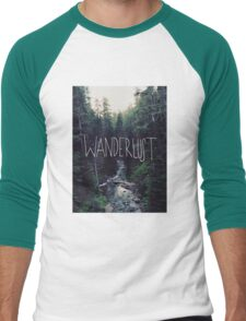 Wanderlust Rainier Creek Men's Baseball ¾ T-Shirt
