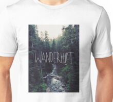 Wanderlust Rainier Creek Unisex T-Shirt