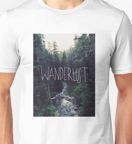 Wanderlust Rainier Creek Unisex T-Shirt