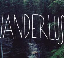 Wanderlust Rainier Creek Sticker