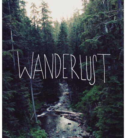 Wanderlust Rainier Creek Sticker