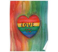 Love Is Equal Drawing Poster
