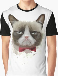 Cat with bow tie Graphic T-Shirt