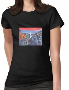 Kenmare, Colour - County Kerry, Ireland Womens Fitted T-Shirt