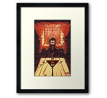 Sorry Kid But You're My Puppet Now Framed Print