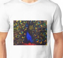 Peacock by Fanny Gogh Unisex T-Shirt