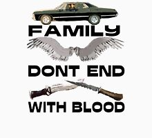 Family Don't End With Blood Classic T-Shirt