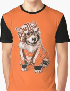 Rebel Corgi Graphic T-Shirt