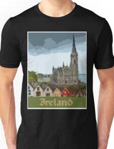 Ireland Travel Poster Unisex T-Shirt