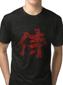 Broken Samurai Kanji Tri-blend T-Shirt