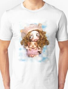 Vampire Fairy and Pink Elephant T-Shirt