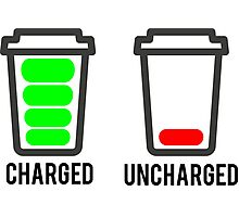CHARGED - UNCHARGED Photographic Print