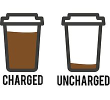 CHARGED UNCHARGED COFFEE Photographic Print
