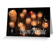 Buon Natale - Italian Christmas Greeting Card