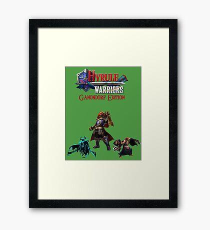 Hyrule Warriors Ganondorf Edition Framed Print