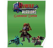 Hyrule Warriors Ganondorf Edition Poster