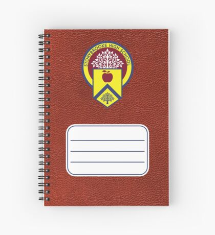 Once Upon a Time - Storybrooke School Notebook Spiral Notebook