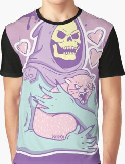 skeletor's cat Graphic T-Shirt
