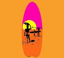 ENDLESS SUMMER SURFBOARD Womens Fitted T-Shirt