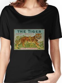 The Tiger Safety Matches Women's Relaxed Fit T-Shirt