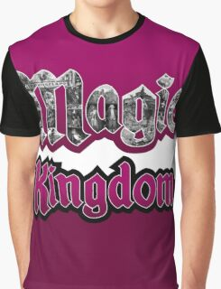 Attractions of Magic Kingdom Graphic T-Shirt