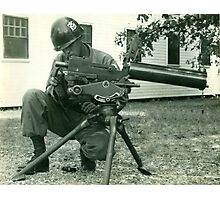 156 Infantry Louisiana National Guard Photographic Print