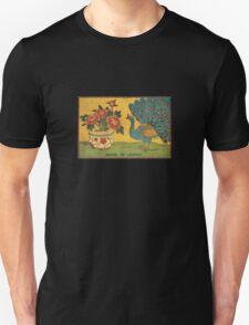 Peacock Matchbox Art T-Shirt