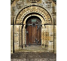 Decorative Doorway Photographic Print