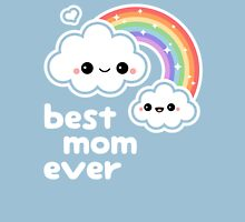 Cute Best Cloud Mom Womens Fitted T-Shirt