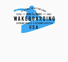 Ride The Wake Wakeboarding Unisex T-Shirt
