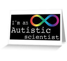 Autistic Scientist Greeting Card