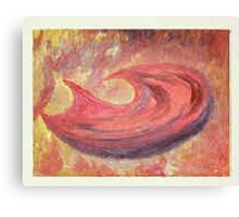 Hunger - Abstract / Symbolic Oil Painting Canvas Print