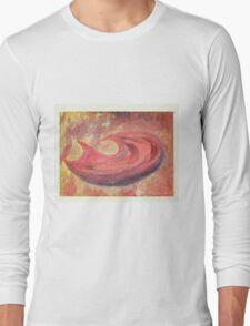 Hunger - Abstract / Symbolic Oil Painting Long Sleeve T-Shirt