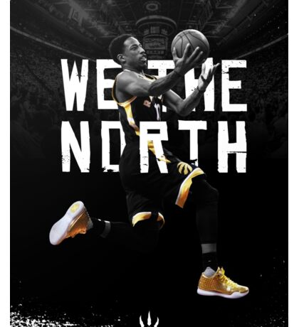 DeMar DeRozan - We The North Sticker