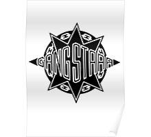 Gang Starr Logo Poster