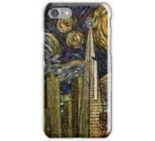 Dedication to Van Gogh: San Francisco Starry Night iPhone Case/Skin
