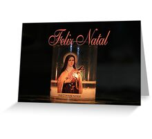 Feliz Natal - Portuguese Christmas Greeting Card