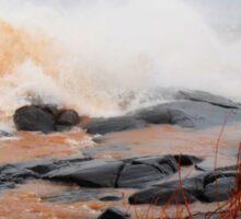 Waves, Lake Superior, Brighton Beach Sticker