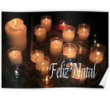 Feliz Natal - Portuguese Christmas Poster