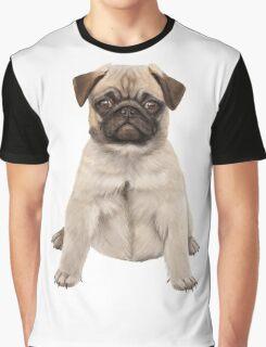 Pug Dog Graphic T-Shirt