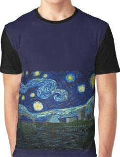 """Memphis Starry Night"" (2012) Graphic T-Shirt"