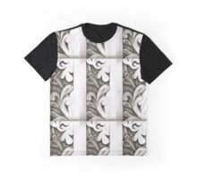 line drawing of wood carving Graphic T-Shirt